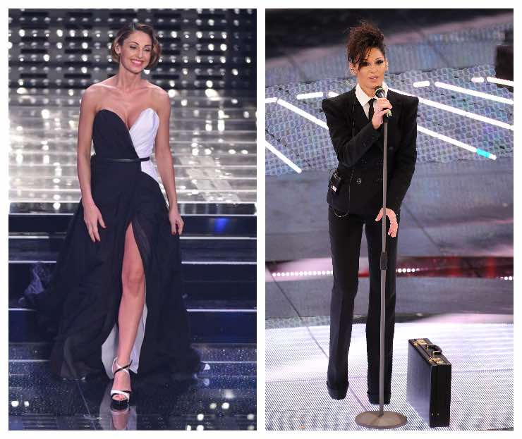 outfit anna Tatangelo sanremo