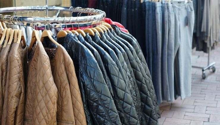 giacca trapunta