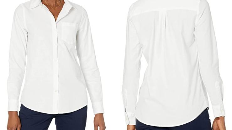 Camicia bianca Amazon