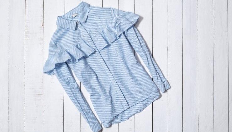 camicia rouches  come sceglierla