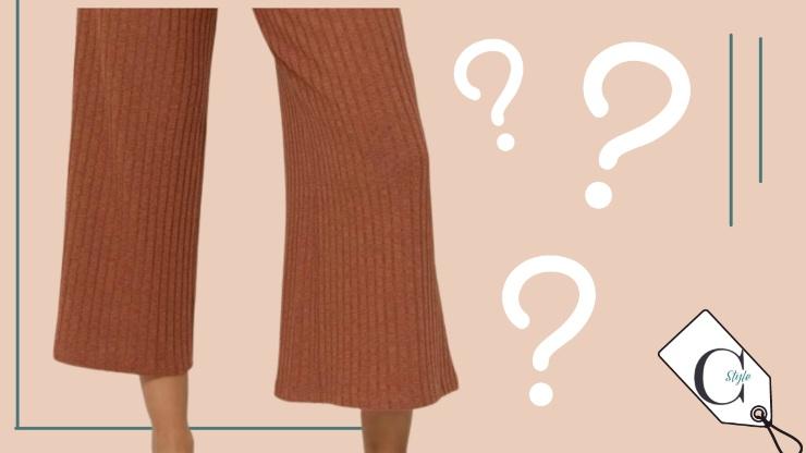 fashion quiz su capo d'abbigliamento