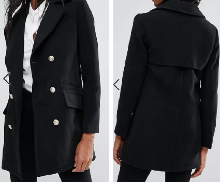 cappotto Missguided