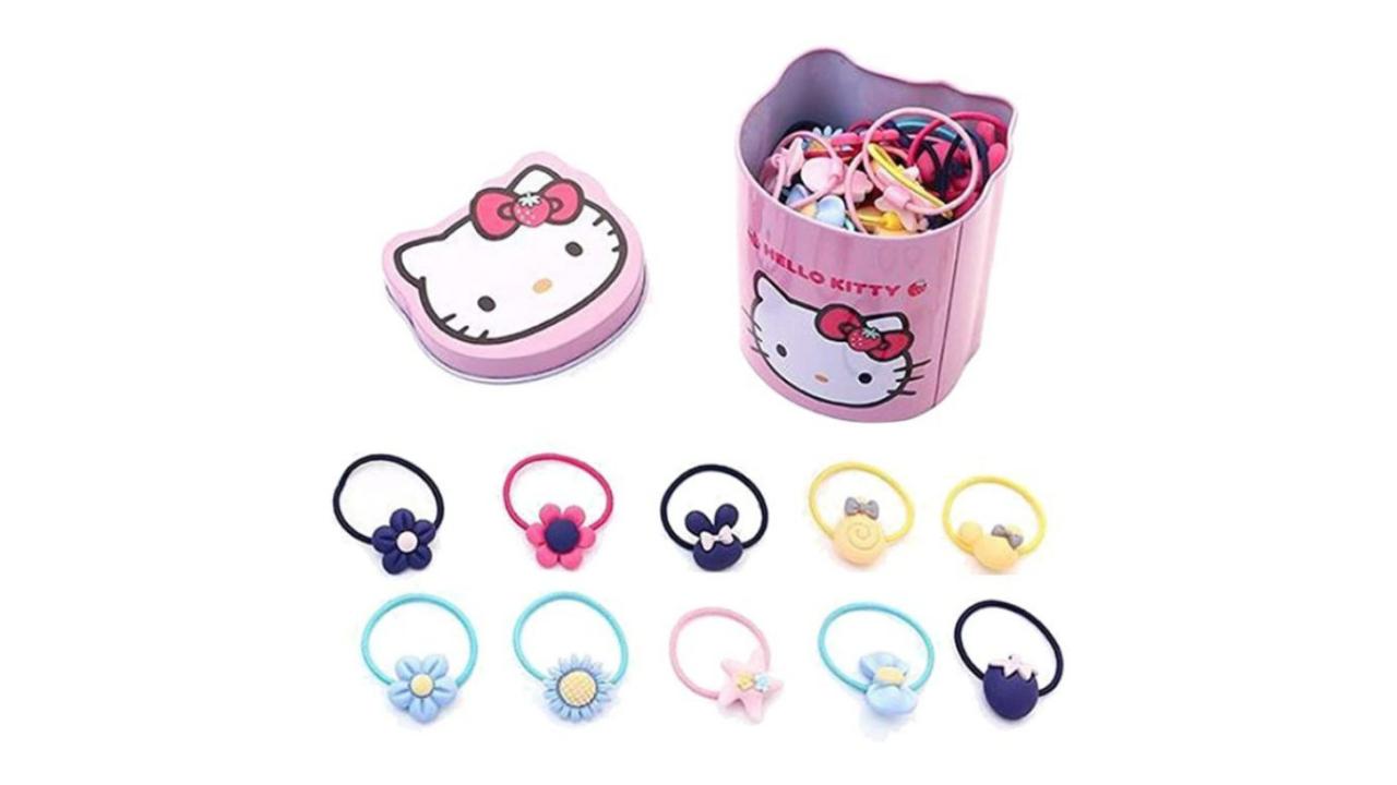 elastici set di 40 della Hello Kitty
