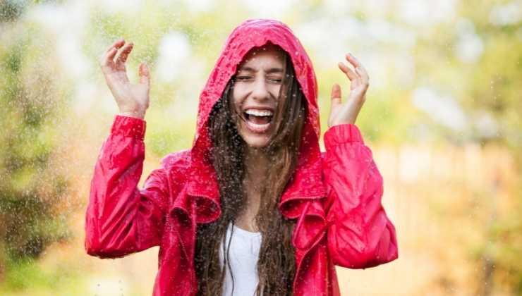 giacca pioggia