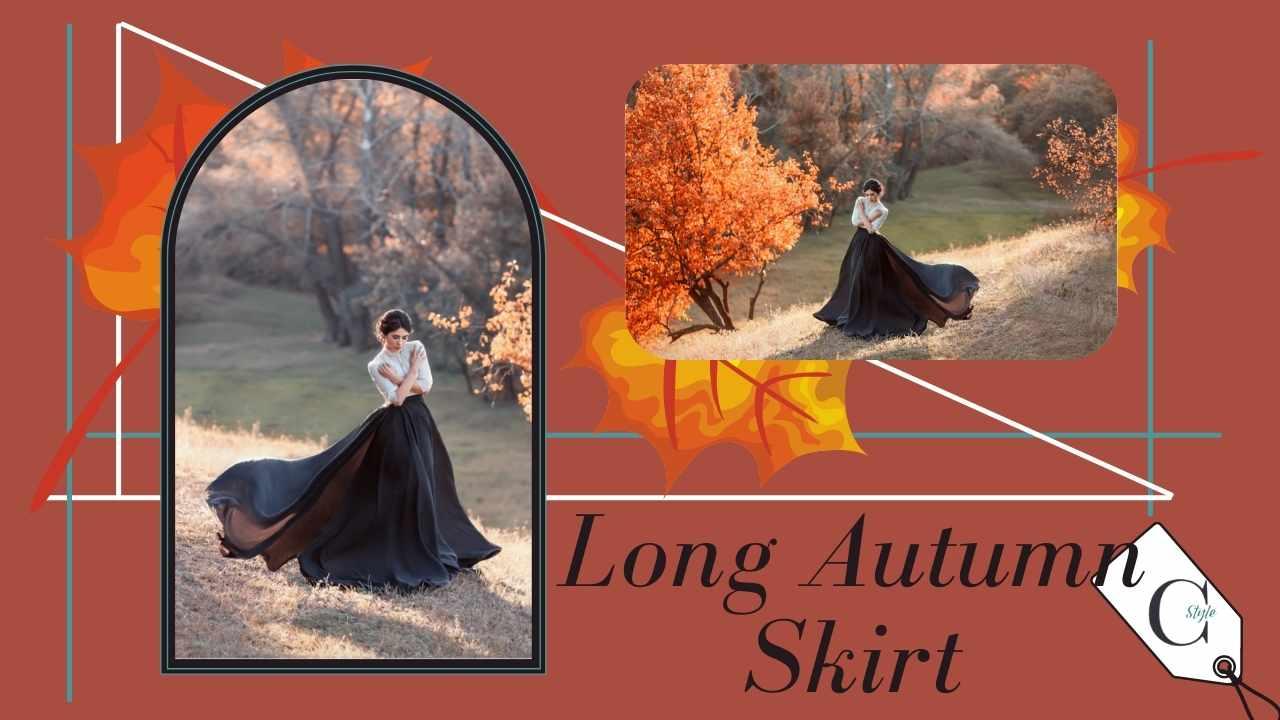 gonna lunga autunno