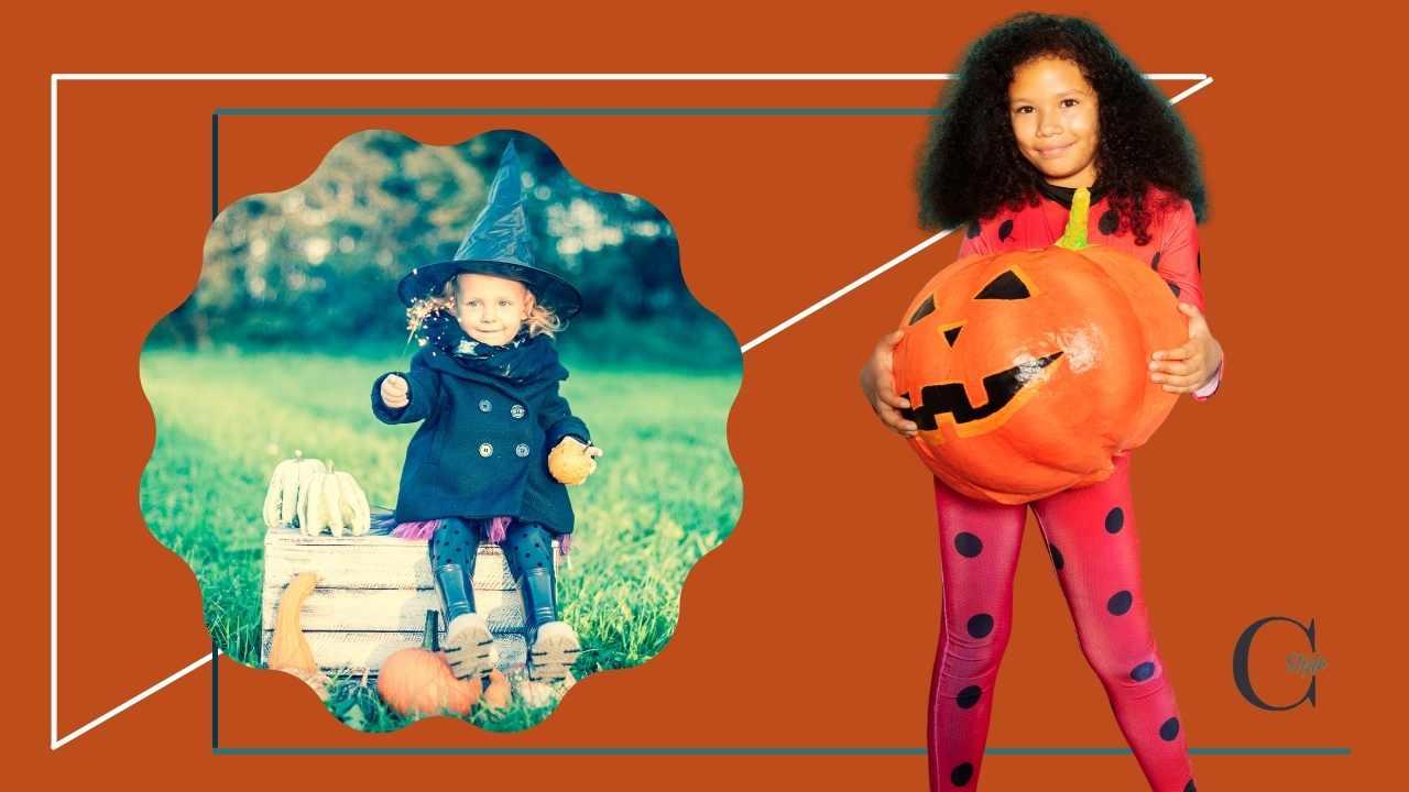 maschera halloween bambina