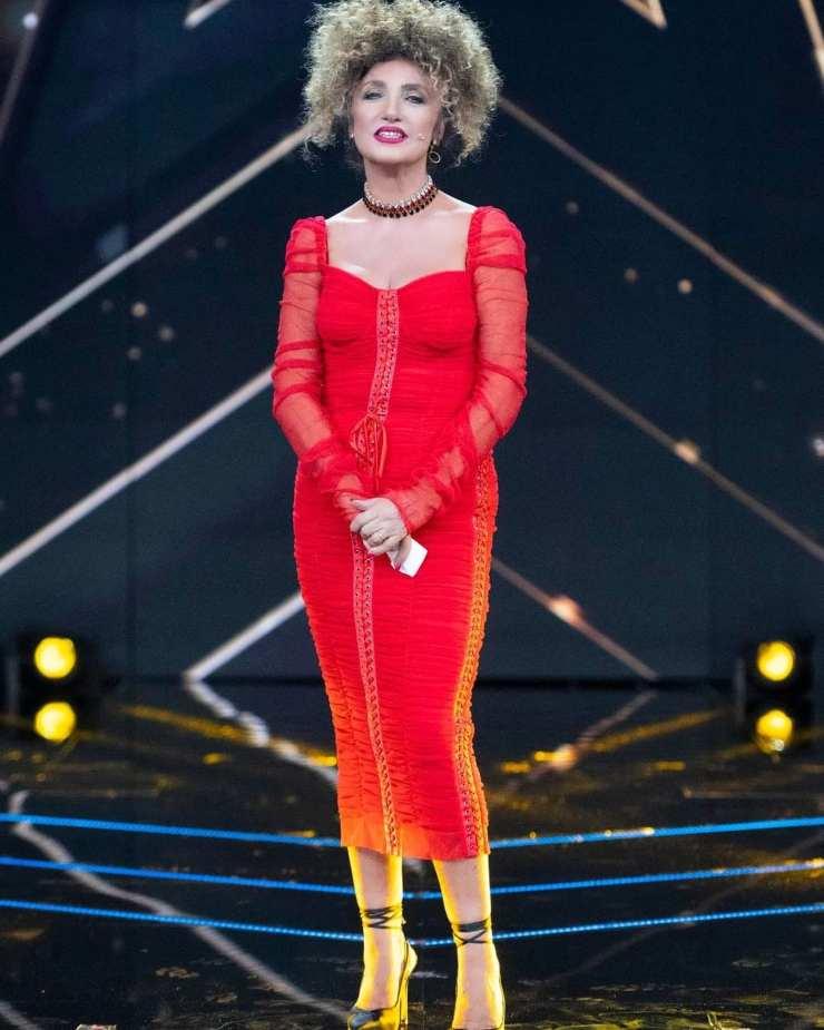 marcella bella look rosso