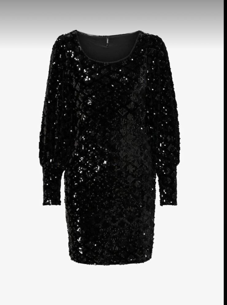 mini dress nero