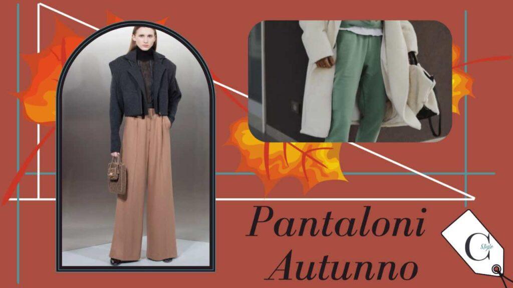 pantaloni colore autunno inverno 2021