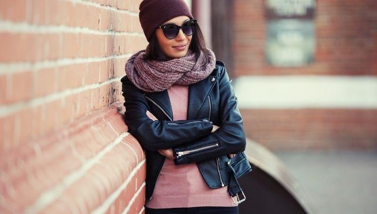 sciarpa maglia e personalità