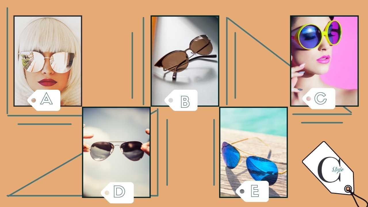 test personalità occhiali da sole