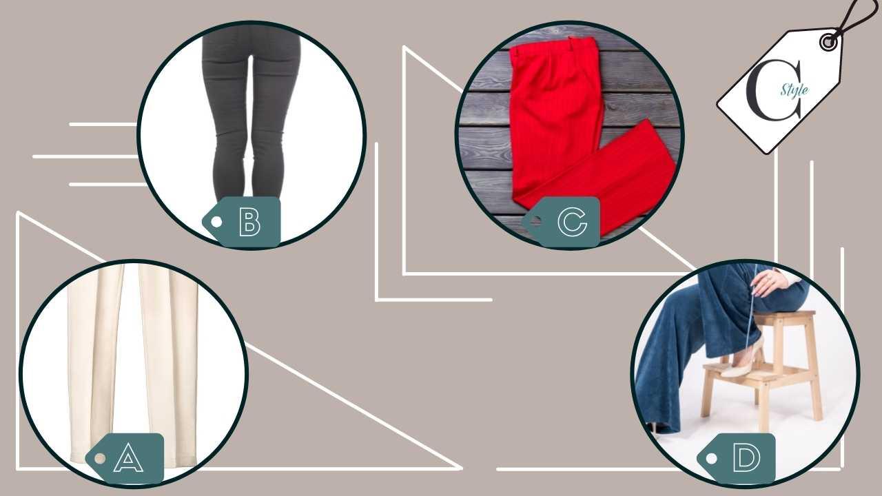 test pantaloni