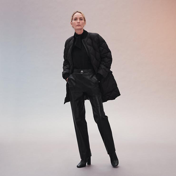 giacca trapuntata hermès