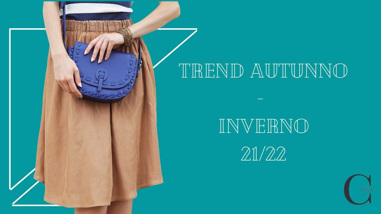 trend borse per autunno/inverno 21/22